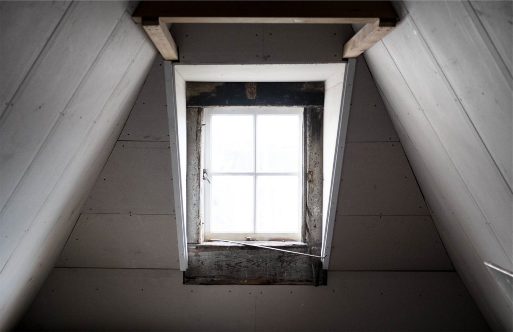 image of an attic