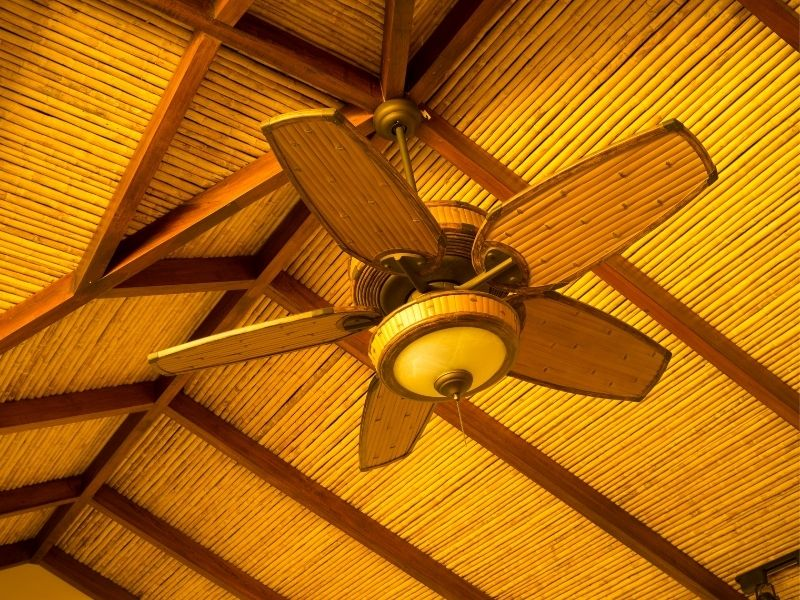 Can ceiling fans reduce radon levels