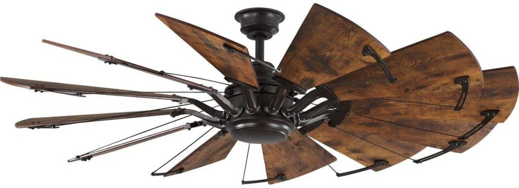Springer Collection Windmill wood fan